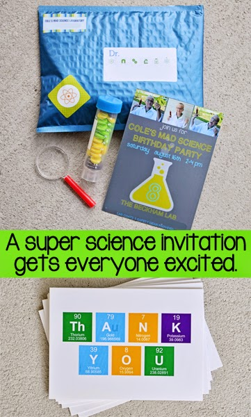 mad science birthday party invitations the beckham project