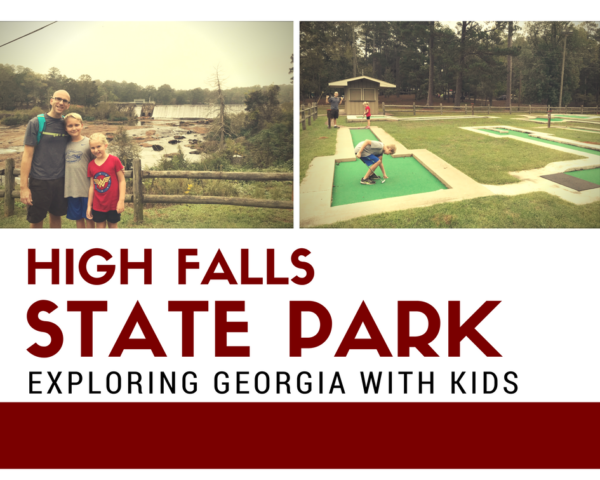 High falls state park georgia camping with kids