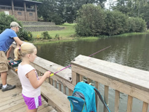 High Falls State park Georgia Fishing