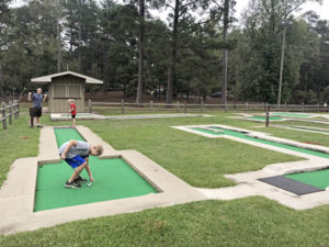 High Falls State Park Georgia Mini Golf