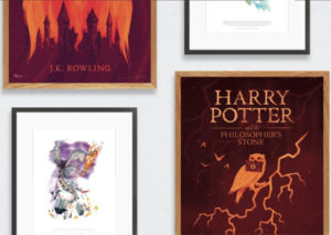Pottermore Artwork Gift Idea for Kids