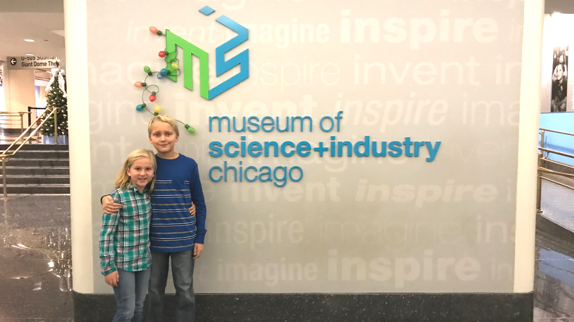 Chicago Museum of Science and Industry with Kids