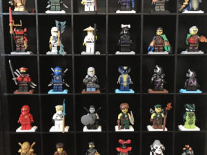LEGO Minifigure Storage Display