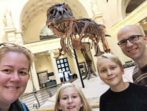 Sue Selfie The Field Museum Chicago with Kids