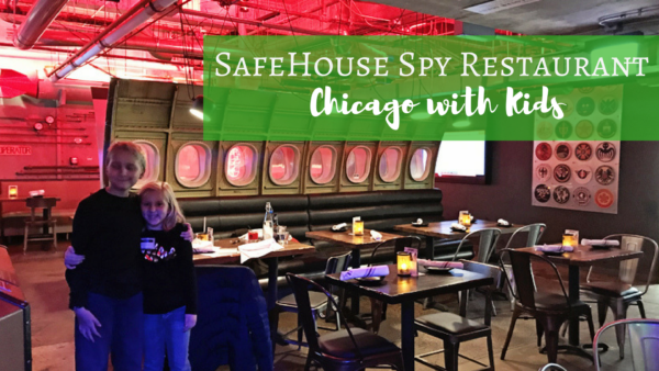 Safehouse Spy Restaurant Chicago with Kids