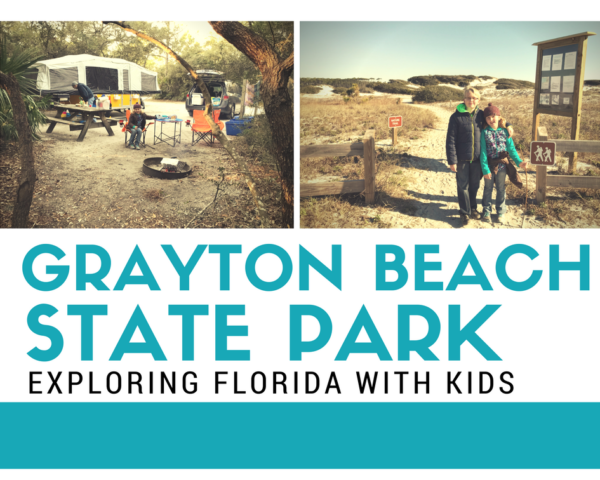 Grayton Beach State Park Florida Camping with Kids
