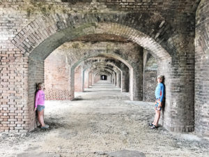 Visiting Dry Tortugas National Park and Fort Jefferson on Garden Key in the Florida Keys with Kids.