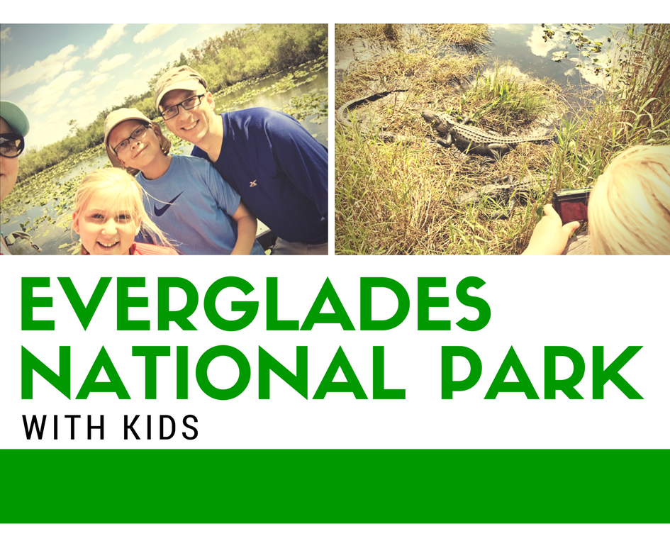 Visiting Everglades National Park in Florida with Kids.
