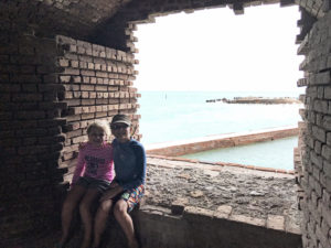 Camping Dry Tortugas National Park with Kids