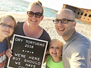 Camping with Kids at Dry Tortugas National Park in the Florida Keys