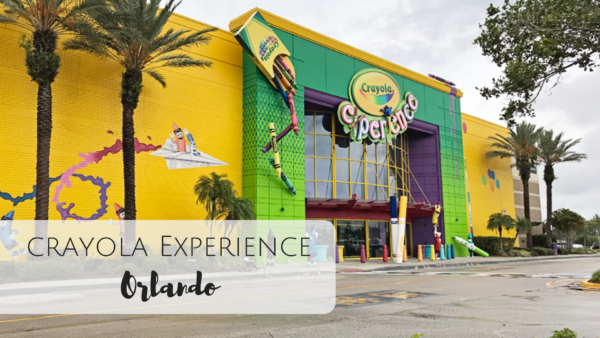 Crayola Orlando Florida with Kids