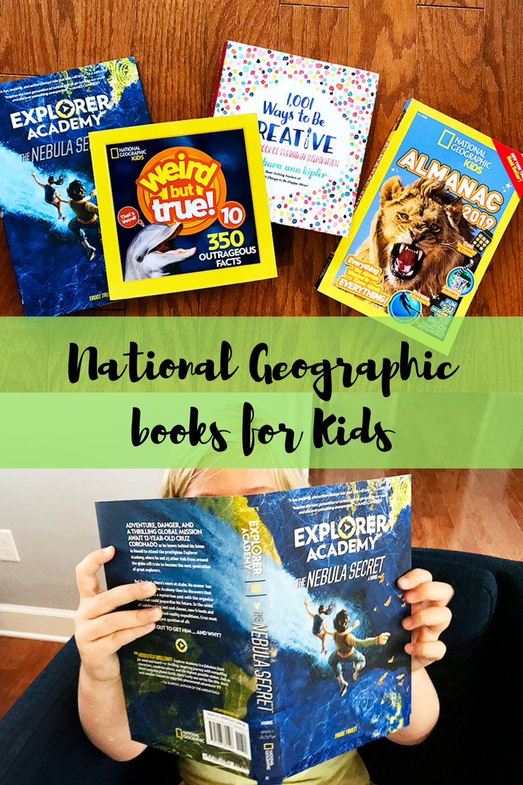 National Geographic Explorer Academy books for kids.
