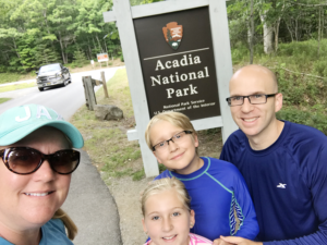 Acadia National Park with Kids