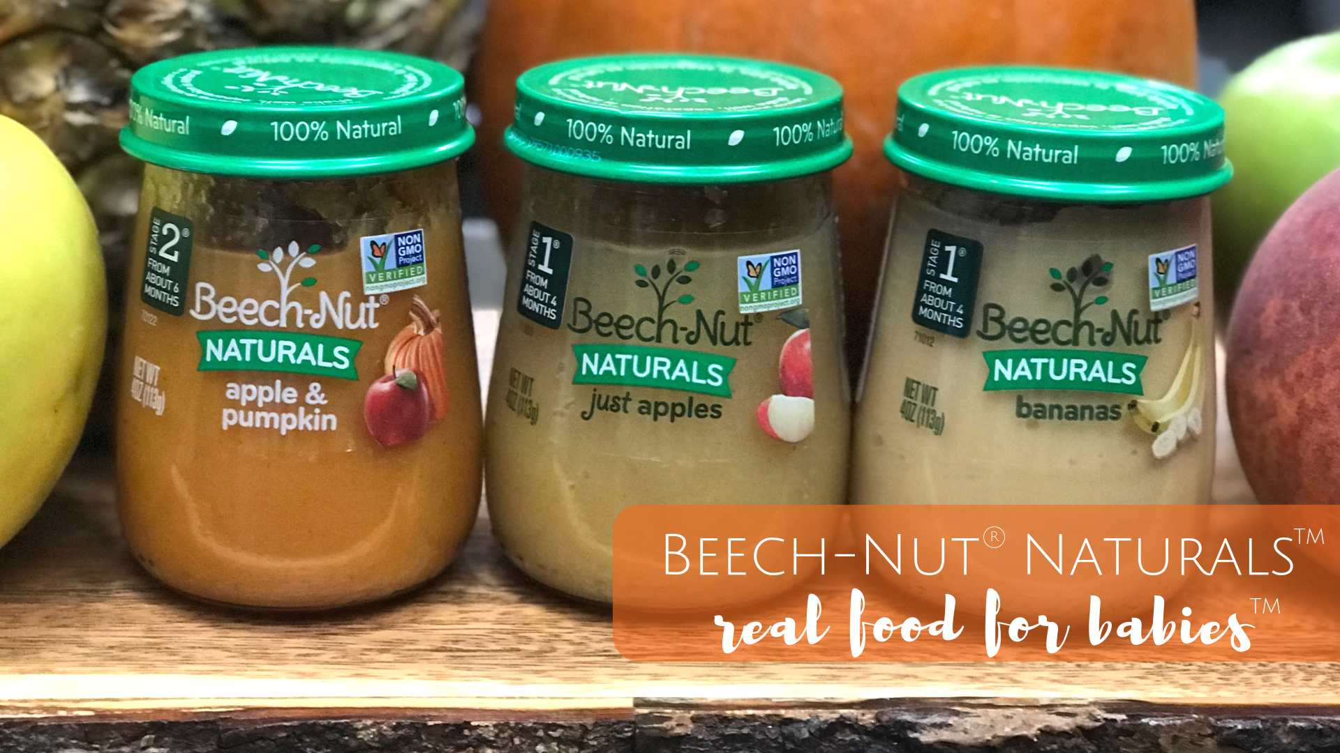 Beech-Nut Naturals: Real Food for Babies