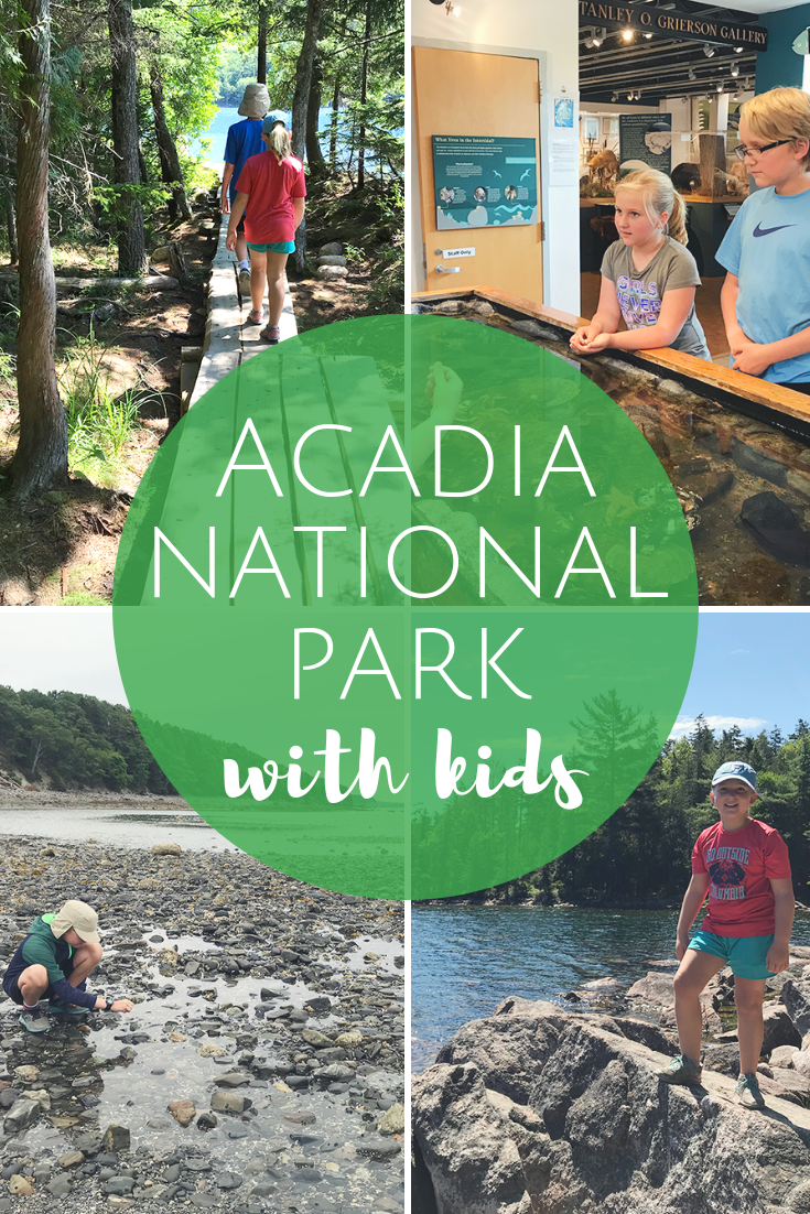 Acadia National Park with Kids - Hiking and Camping