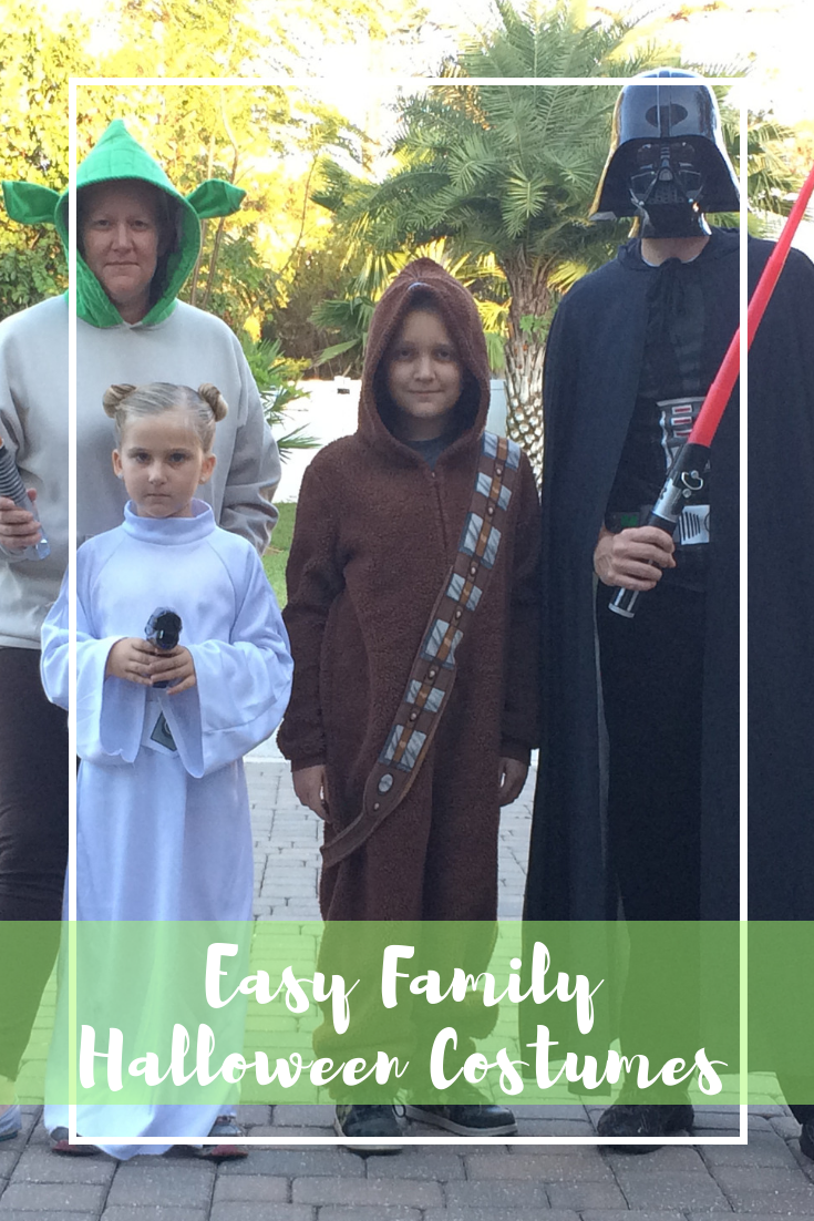 Family StarWars Halloween Costume