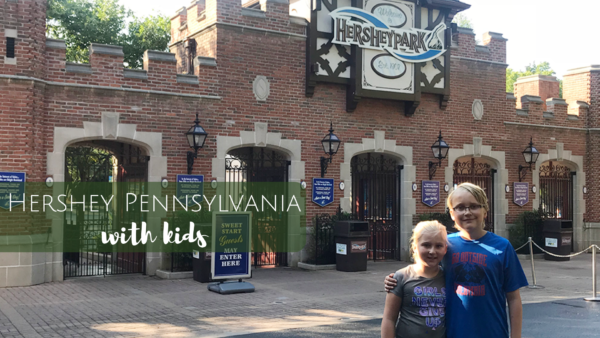 Hershey Chocolate World & Hershey Park in Hershey Pennsylvania with Kids