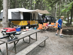 Pop Up Camping in Acadia National Park with Kids