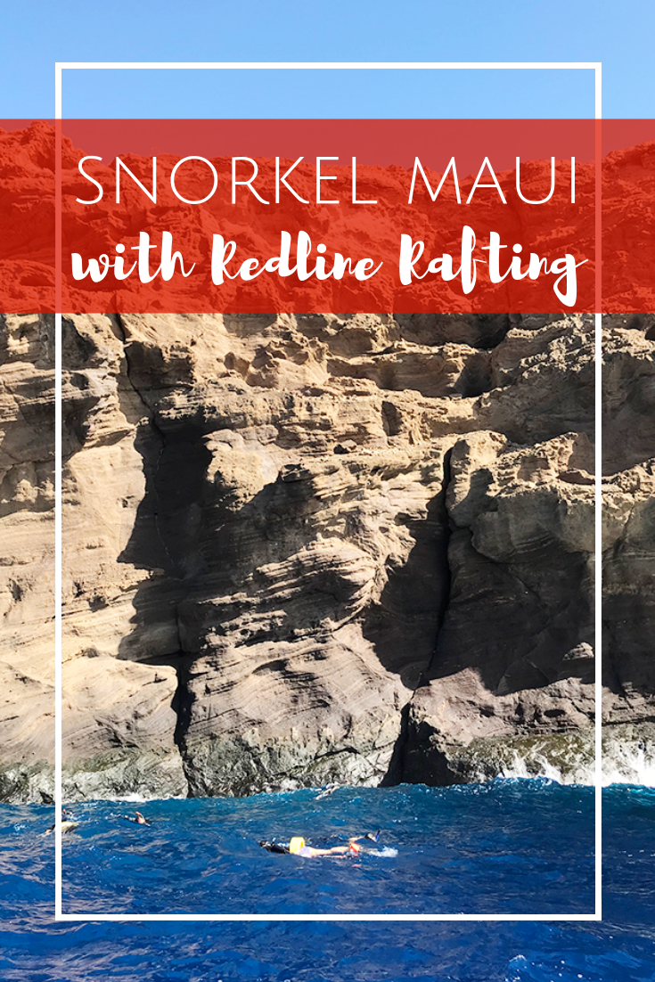 Redline Rafting snorkel tour, Turtle Town & Molokini Crater in Maui, Hawaii.