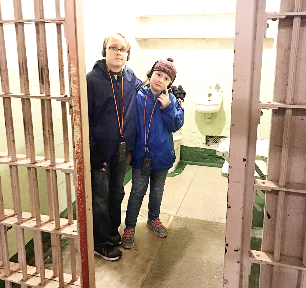 Visiting Alcatraz Island in San Francisco with Kids