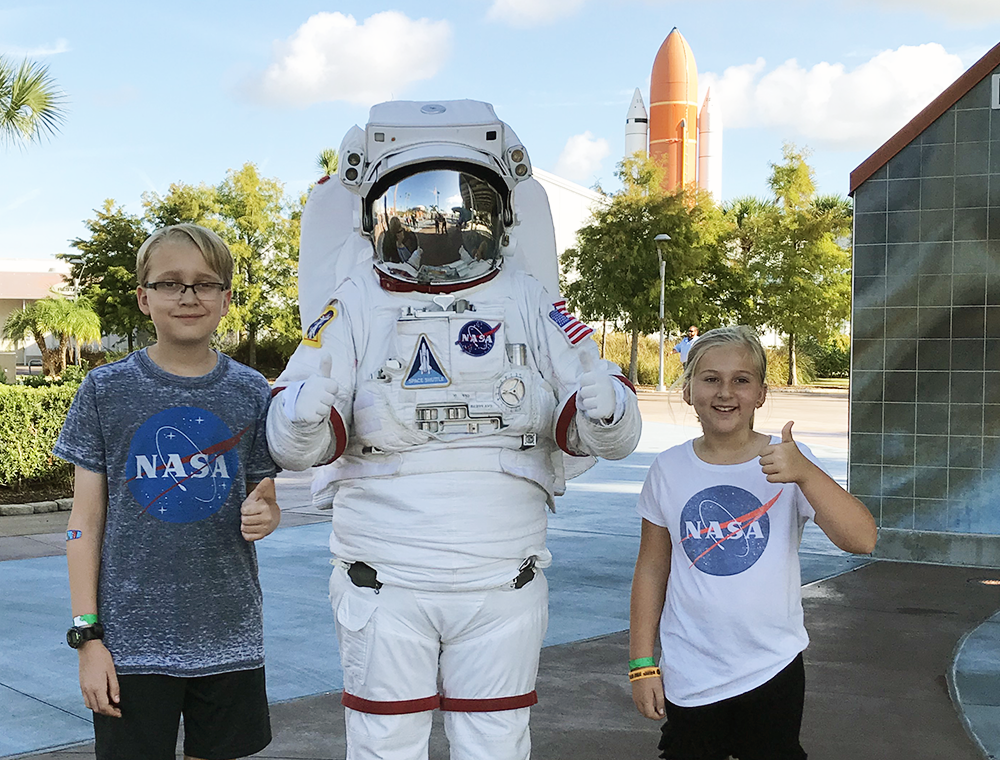 Kennedy Space Center with Kids in Orlando Florida