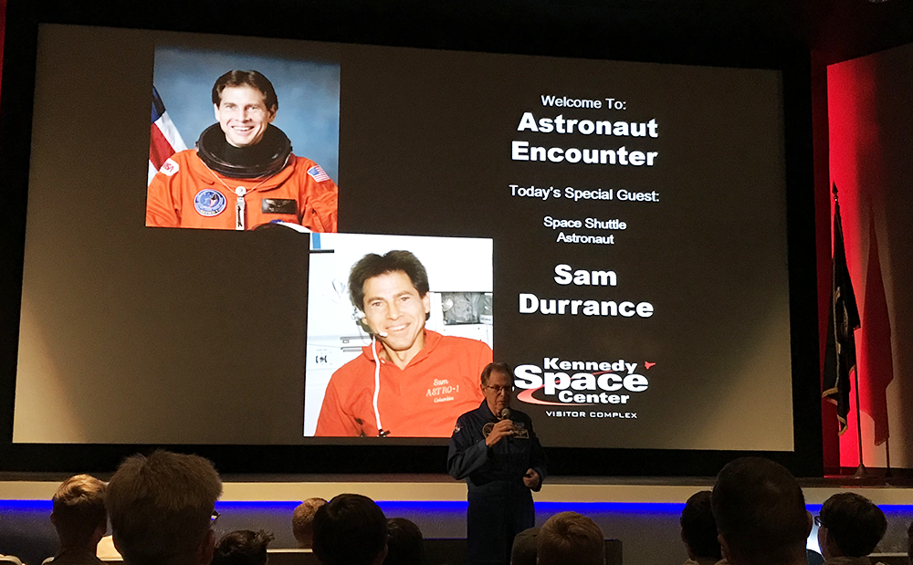 Meet an Astronaut at Kennedy Space Center in Orlando, Florida