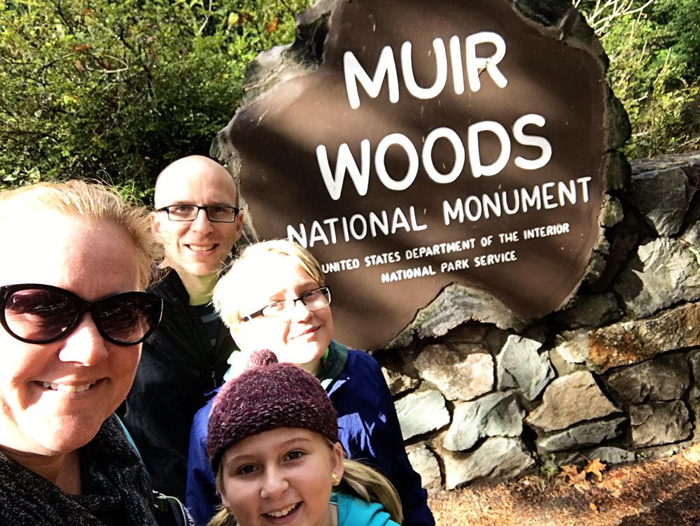 Muir Woods National Monument San Francisco California with Kids