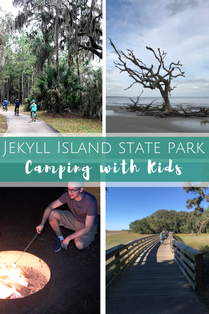 Camping with Kids in Jekyll Island, Georgia