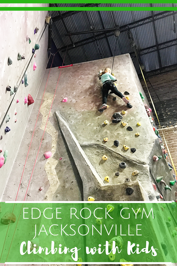 Rock Climbing with Kids in Jacksonville, Florida - The Edge Rock Gym