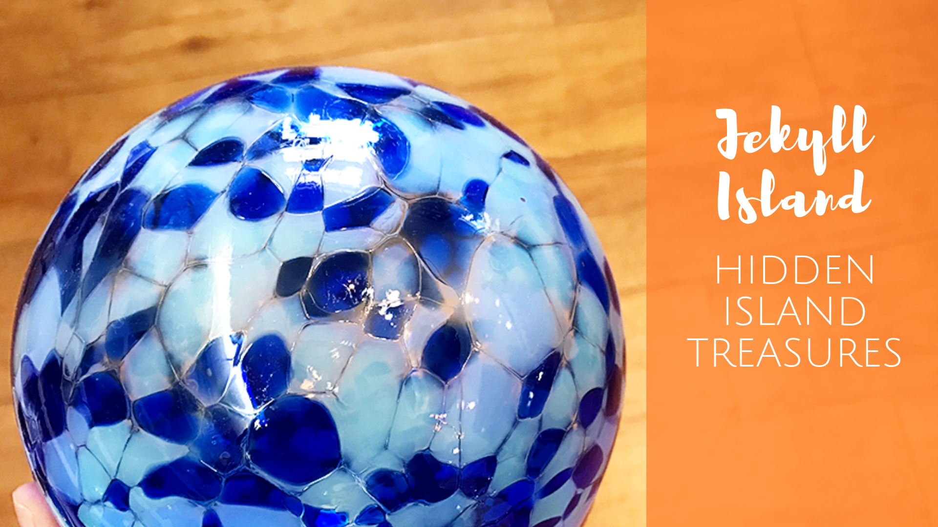 Jekyll Island Hidden Treasures - a real treasure hunt for glass floats in Georgia!