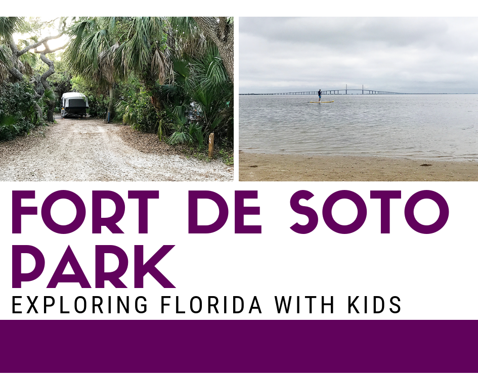 Camping at Fort De Soto Park in Pinellas Florida