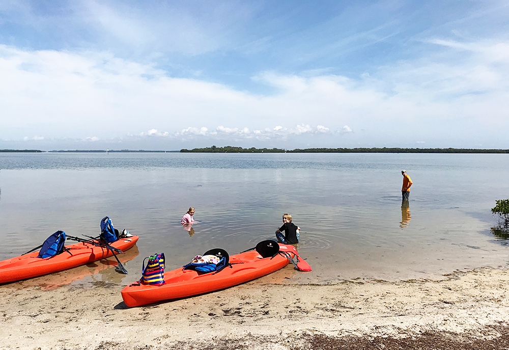 Fort De Soto Campground in Florida