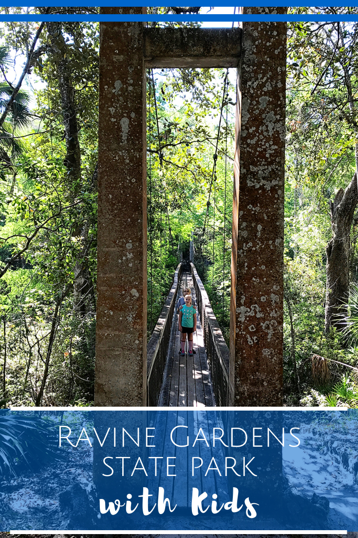 Ravine Gardens State Park in Florida with Kids