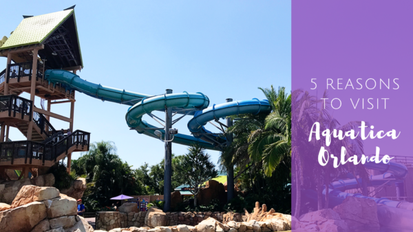 Aquatica Waterpark in Orlando, Florida