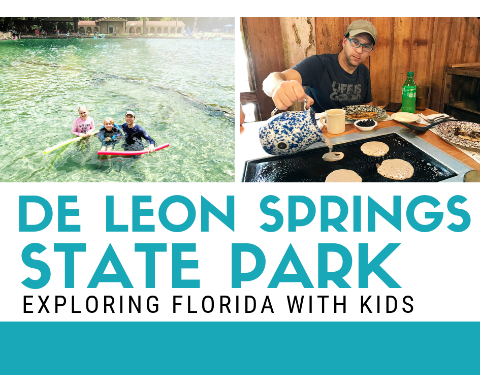 Florida State Parks:: De Leon Springs and Old Sugar Mill Pancake Restaurant