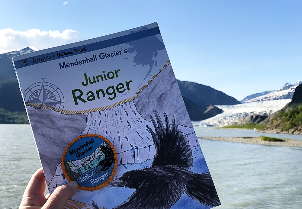 Mendenhall Glacier National Recreation Area in Juneau, Alaska