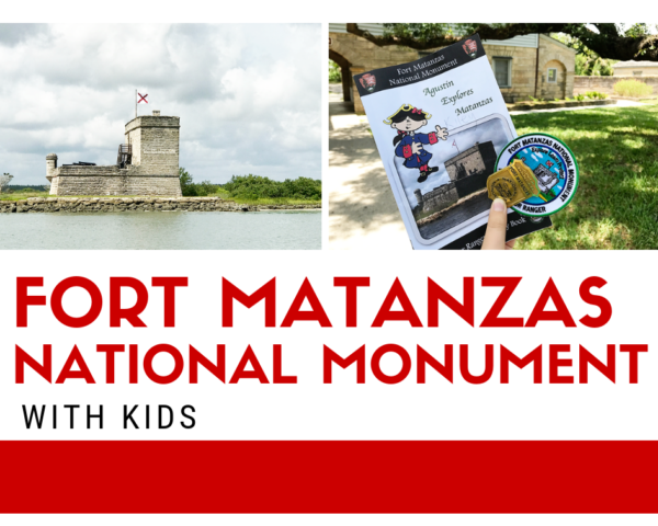 Fort Matanzas National Monument in St. Augustine, Florida with Kids