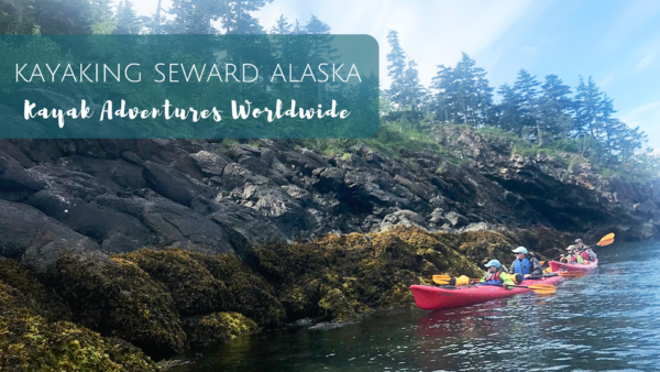 Kayaking with kids in Seward Alaska with Kayaking Adventures Worldwide