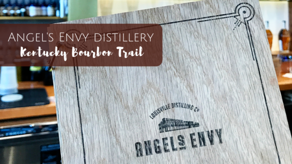 Angel's Envy Distillery Tour on the Kentucky Bourbon Trail