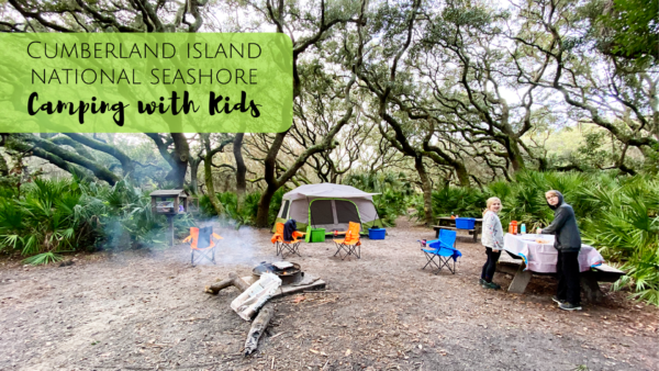 Camping at Cumberland Island National Seashore in Georgia with Kids