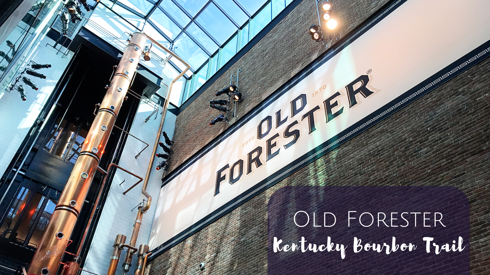 Old Forester Distillery in Louisville, Kentucky - George's Bar Cocktail Class