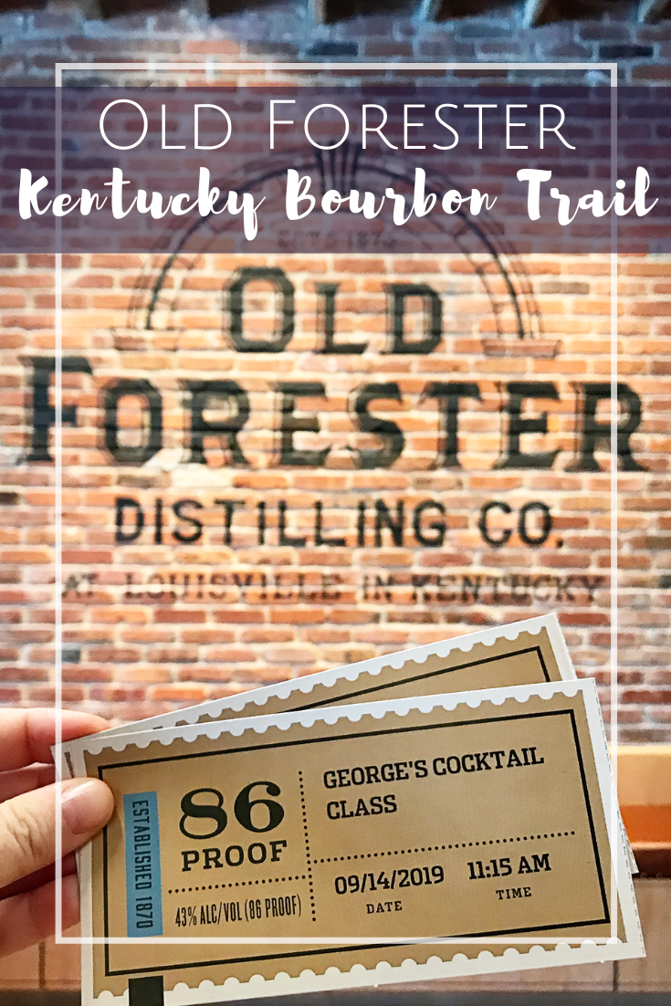 Old Forester Distilling Company in Louisville, Kentucky.