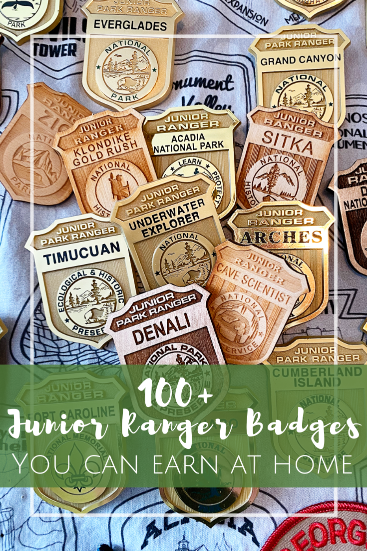 100+ Junior Ranger Badges you can earn from home!