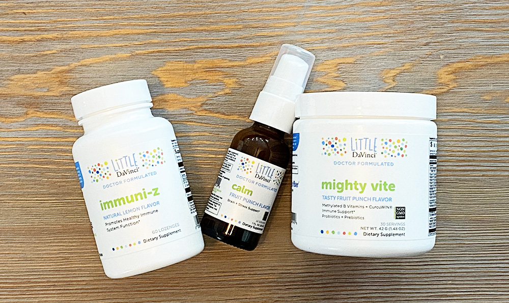 Little DaVinci Mighty Vite Vitamins