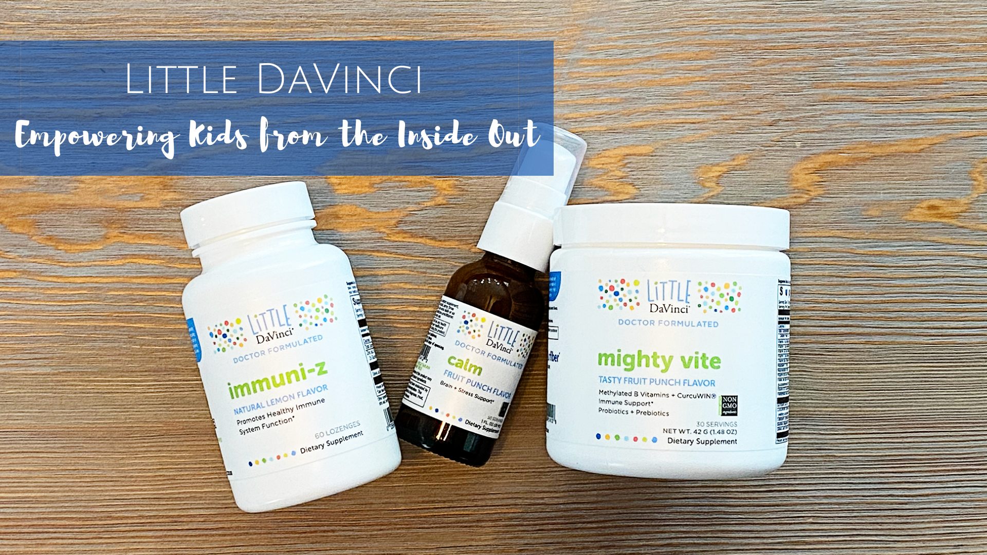 Little DaVinci supplements for kids.