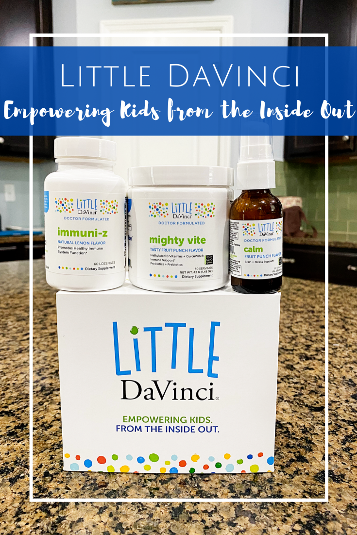 Little DaVinci nutrition supplements for kids