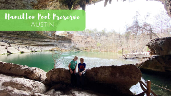 Hamilton Pool Preserve in Austin, Texas