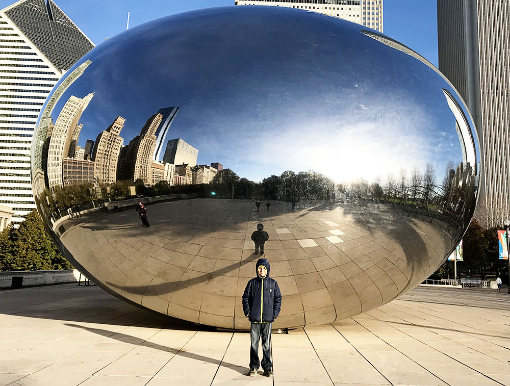 5 tips for getting great pictures at The Bean/Cloud Gate in Chicago.