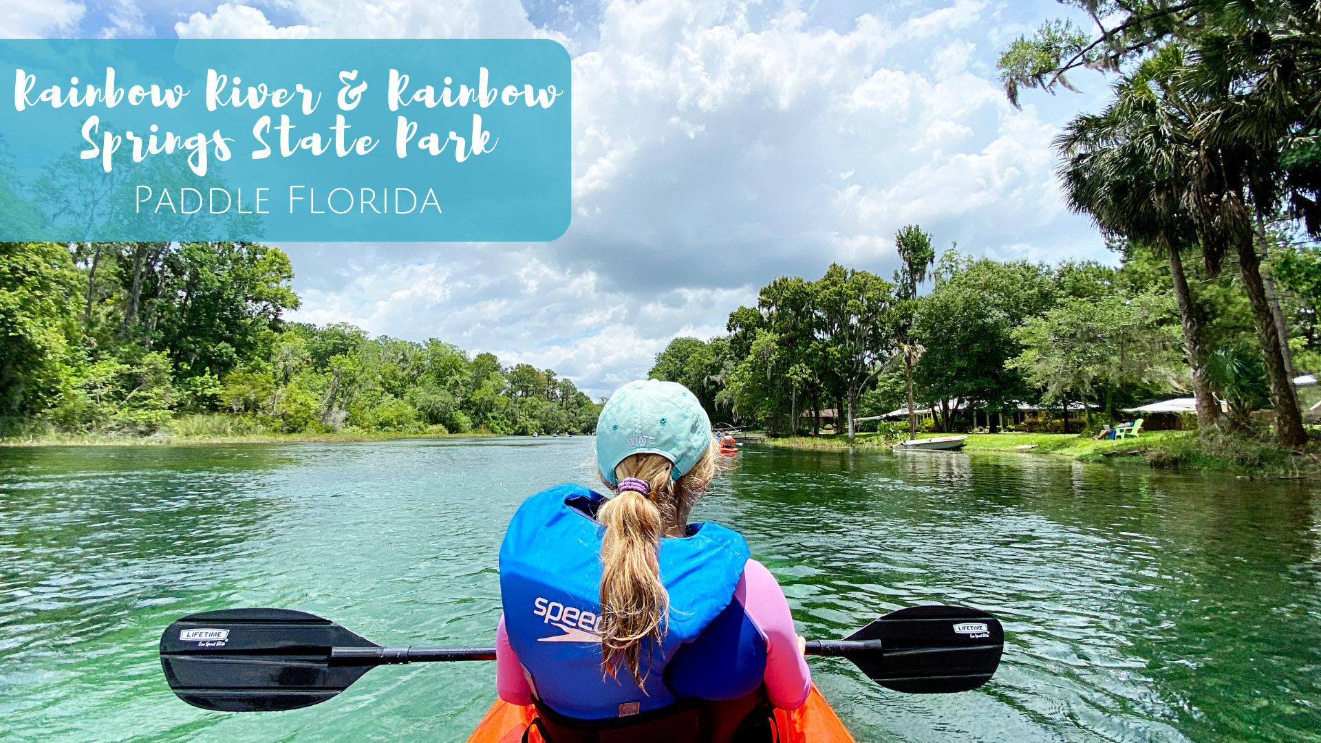 Kayaking Rainbow River in Dunnellon, Florida