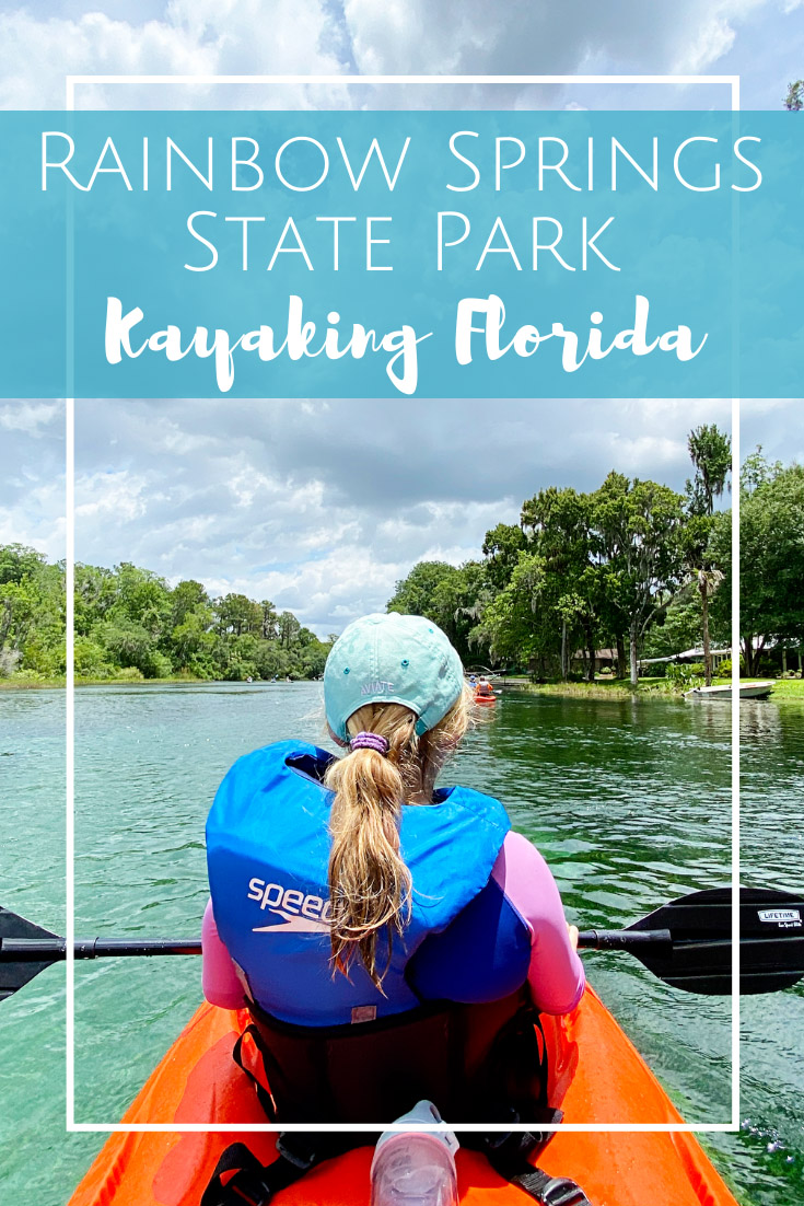 Kayaking Rainbow River in Dunnellon, Florida - Rainbow Springs State Park